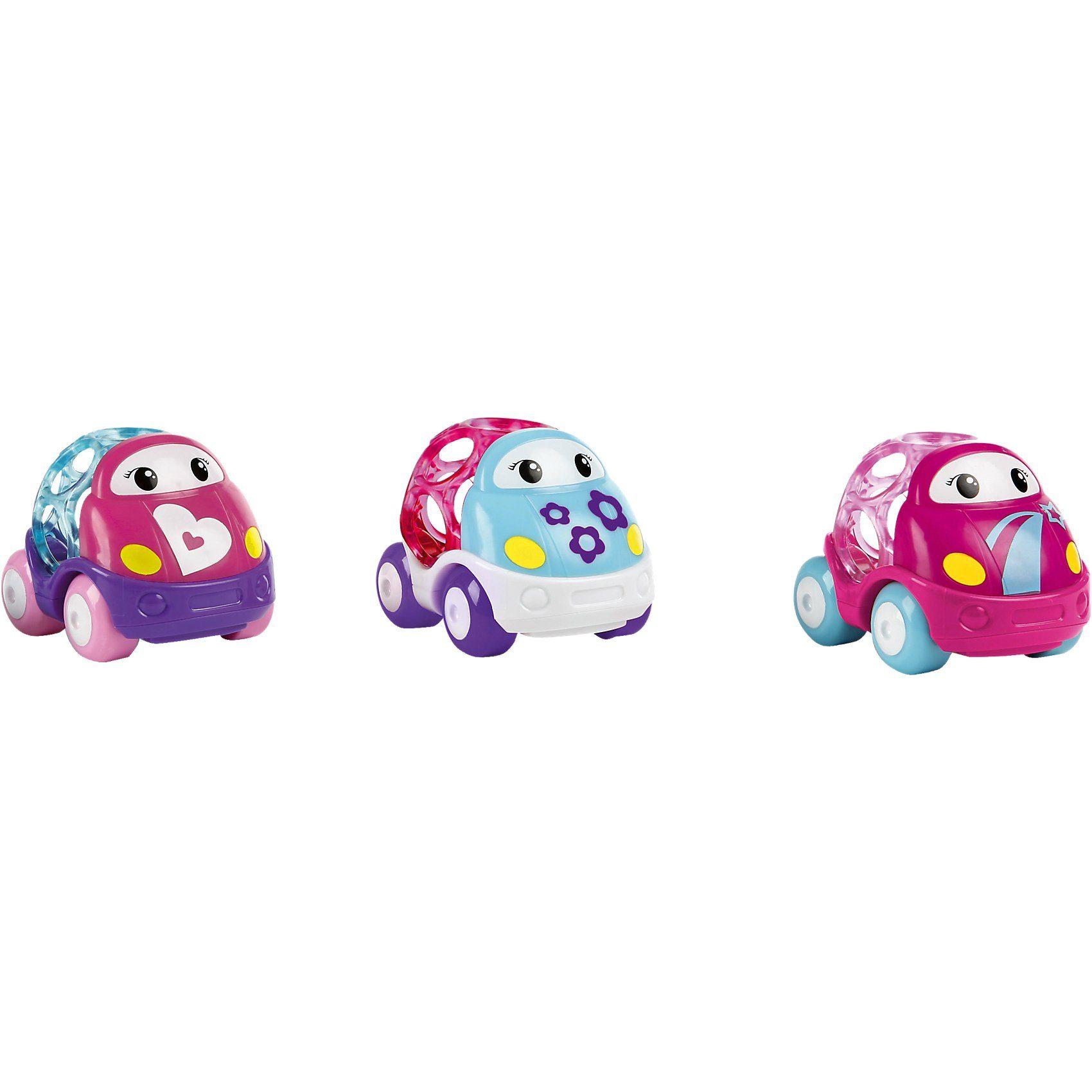 Kids II GoGrippers Fahrzeuge, pink (3-fach sort.)