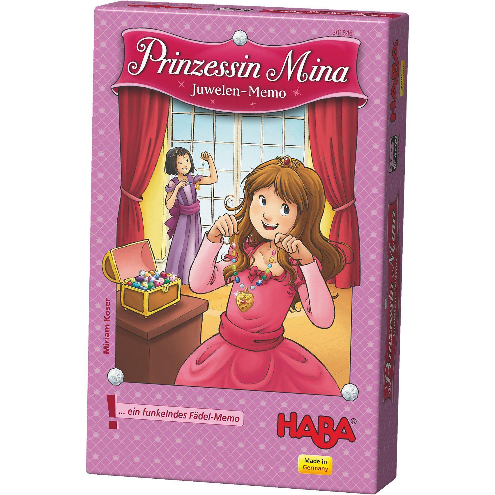 Haba Prinzessin Mina - Juwelen-Memo