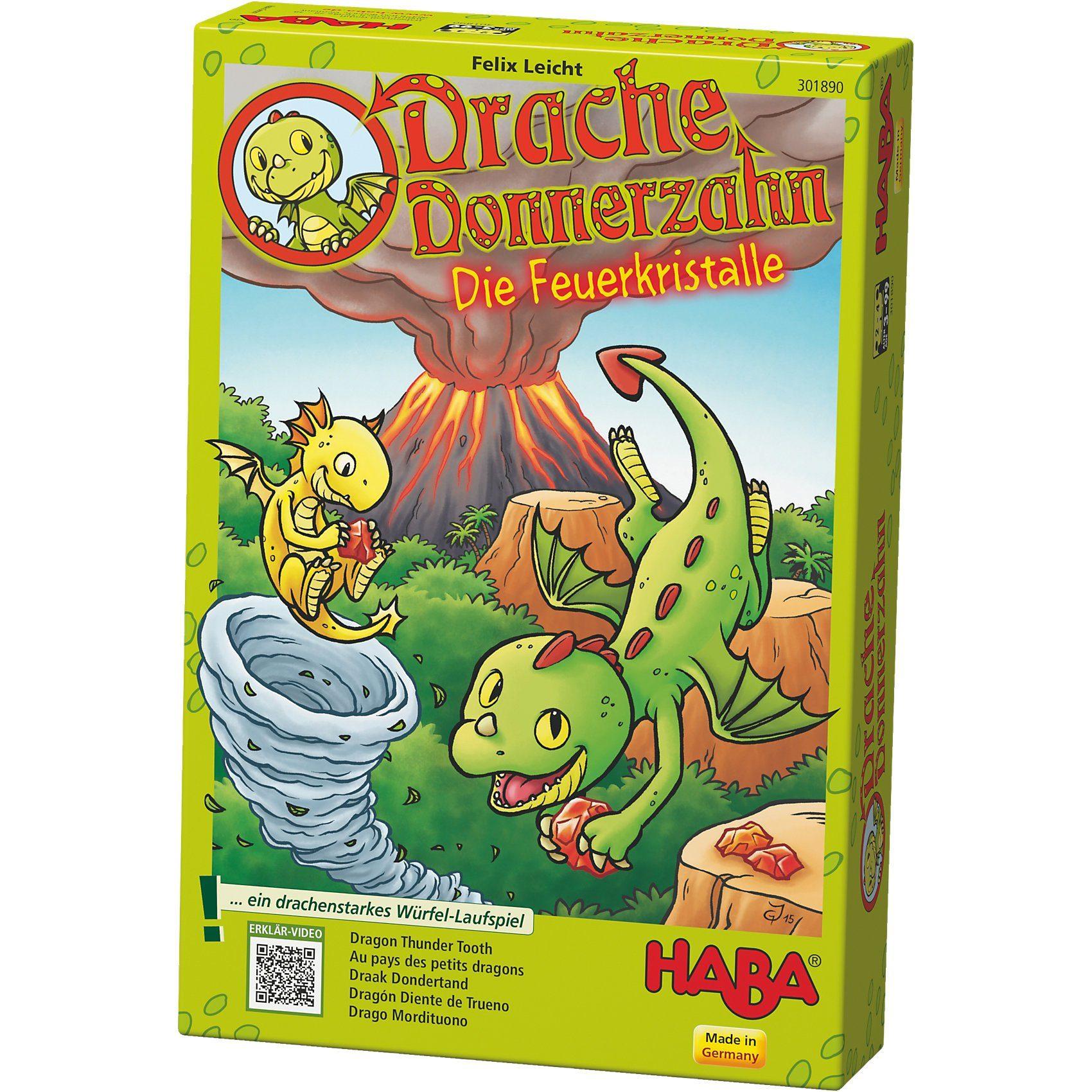 Haba Drache Donnerzahn - Die Feuerkristalle