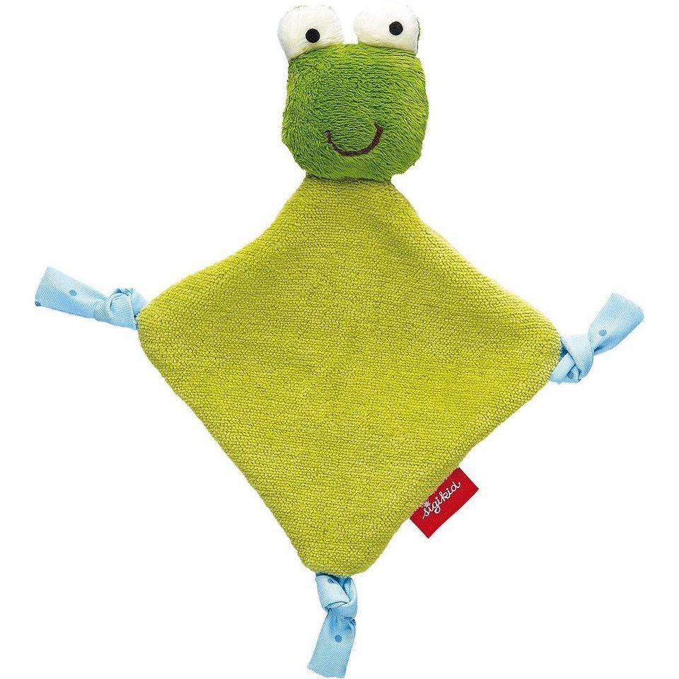 sigikid Newborn Schnuffeltuch Frosch