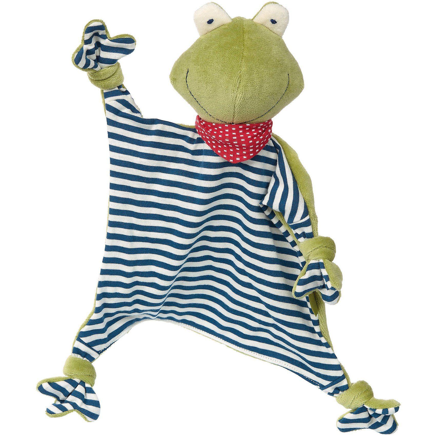 sigikid Schnuffeltuch Frosch, Naturale Love (41352)