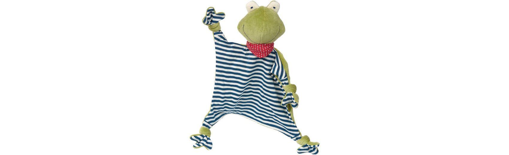 sigikid Schnuffeltuch Frosch, Naturale Love