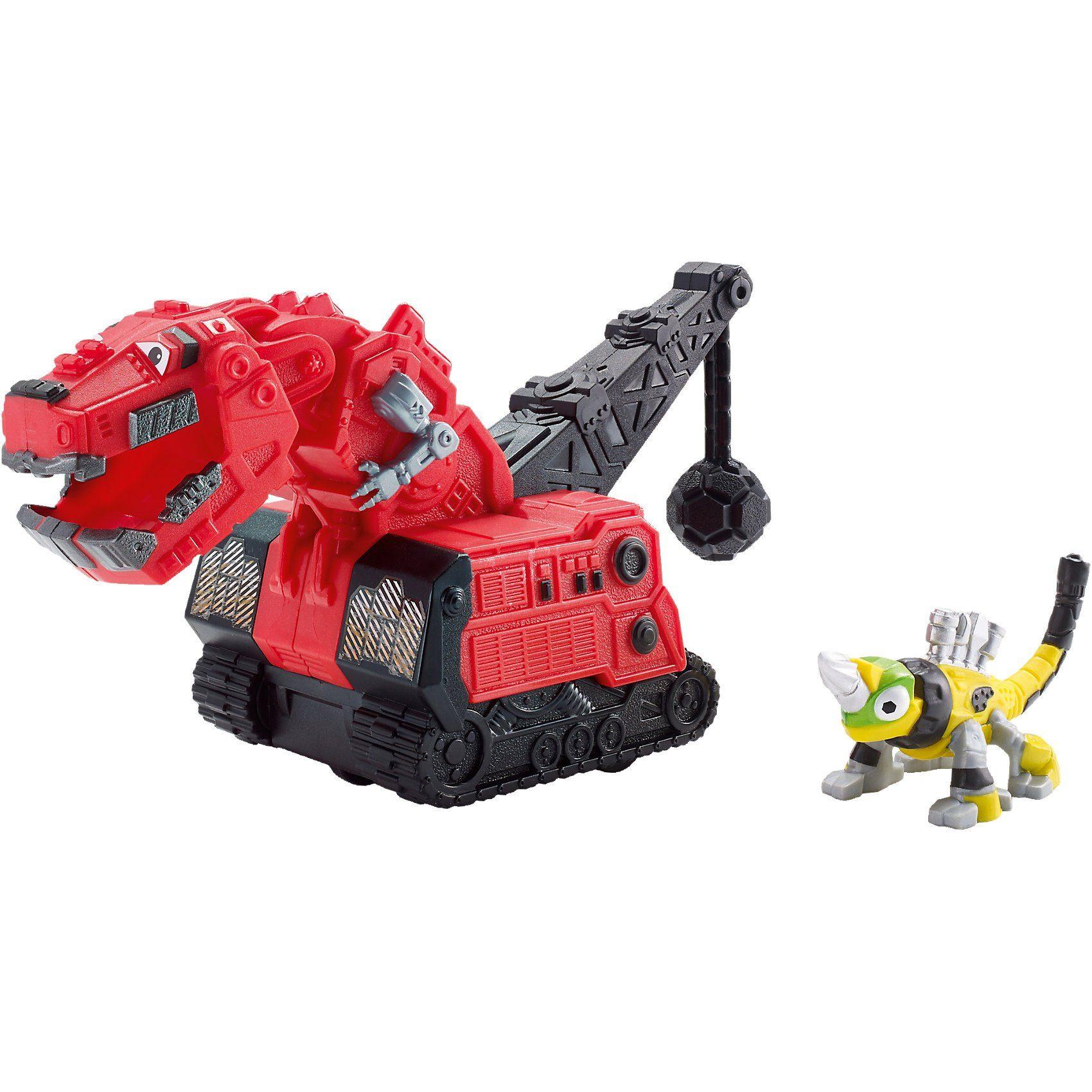 Mattel Dinotrux Die-Cast T-Rux & Repto