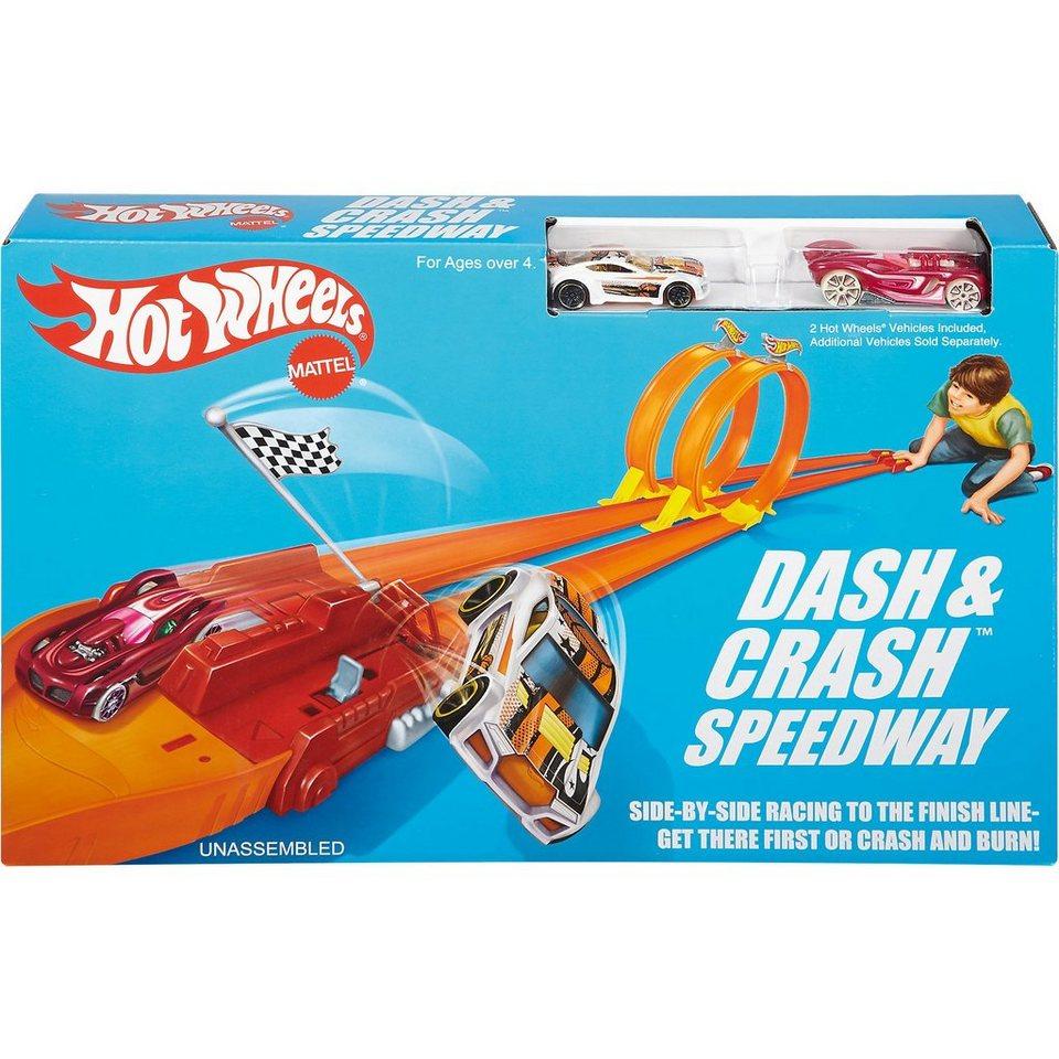 Mattel Hot Wheels Crash Rennstrecke Track Set exklusiv