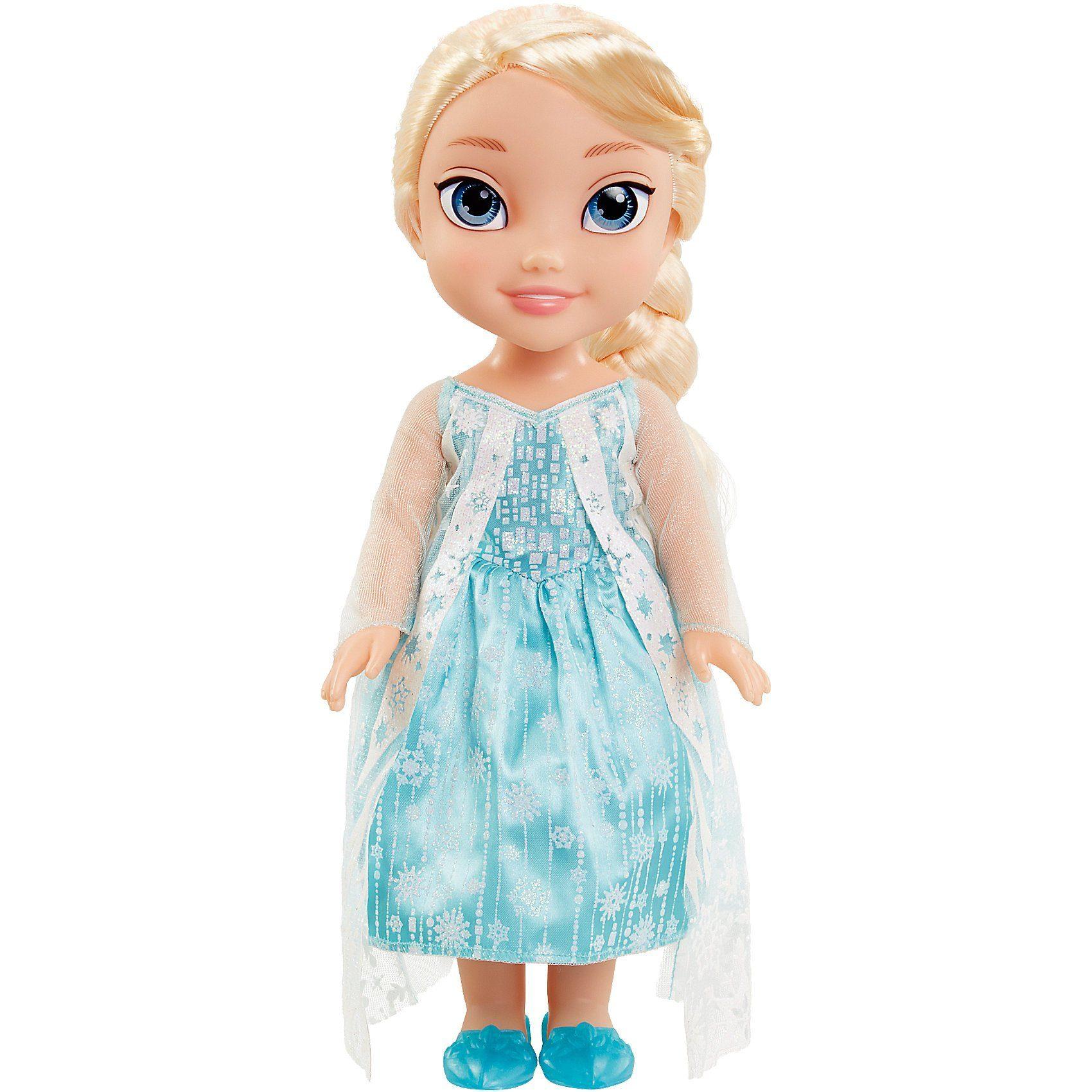 Jakks Pacific Disney Frozen Elsa Stehpuppe mit Glitzer Cape 35 cm