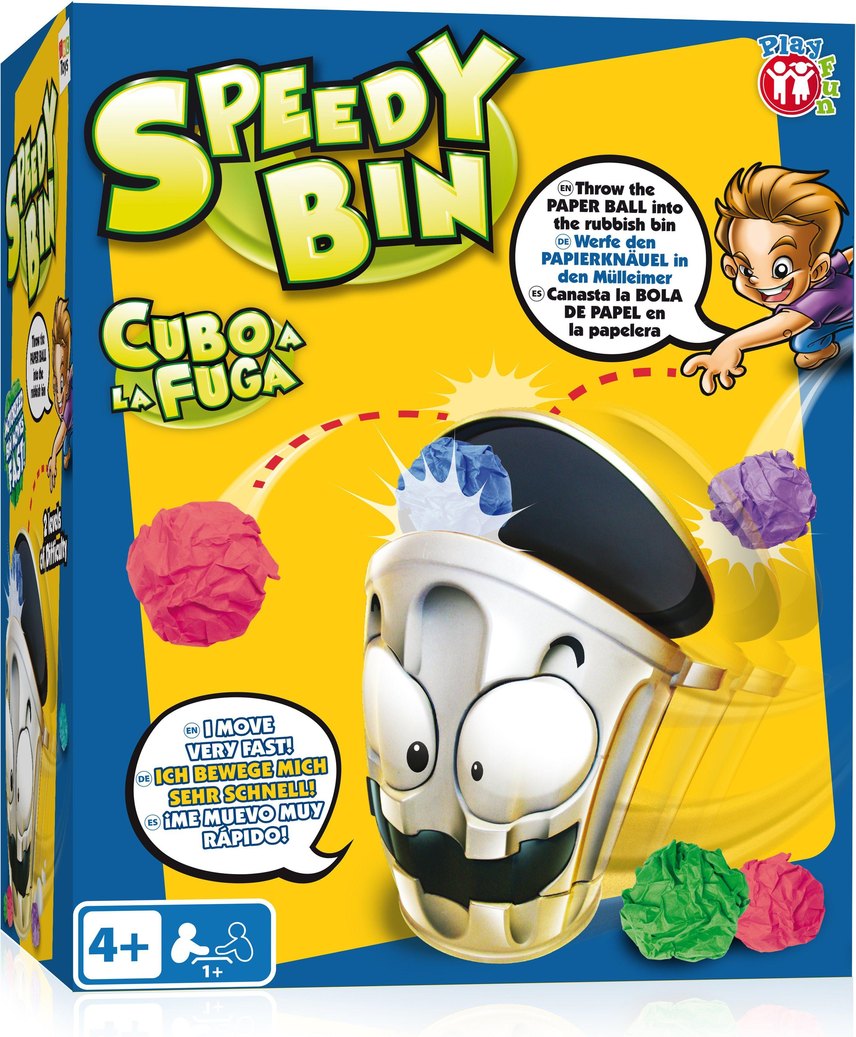 IMC Toys Wurfspiel, »Schneller Mülleimer Speedy Bin«