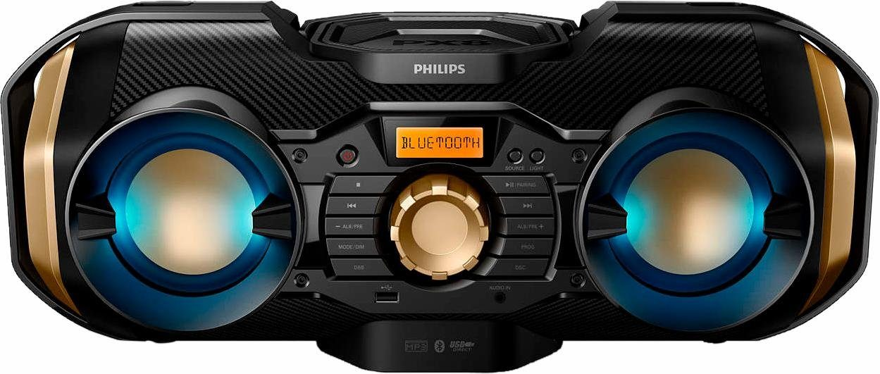Philips PX840T/12 Kompaktanlage, Bluetooth, 1x USB