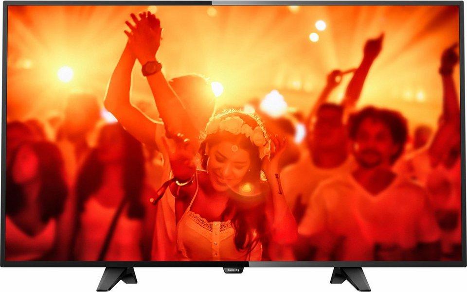 Philips 32PHS4131, LED Fernseher, 80 cm (32 Zoll), HD-ready 720p in schwarz