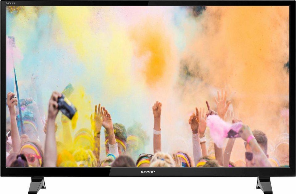 Sharp LC-32CHE4042E, LED Fernseher, 81 cm (32 Zoll), HD-ready 720p in schwarz