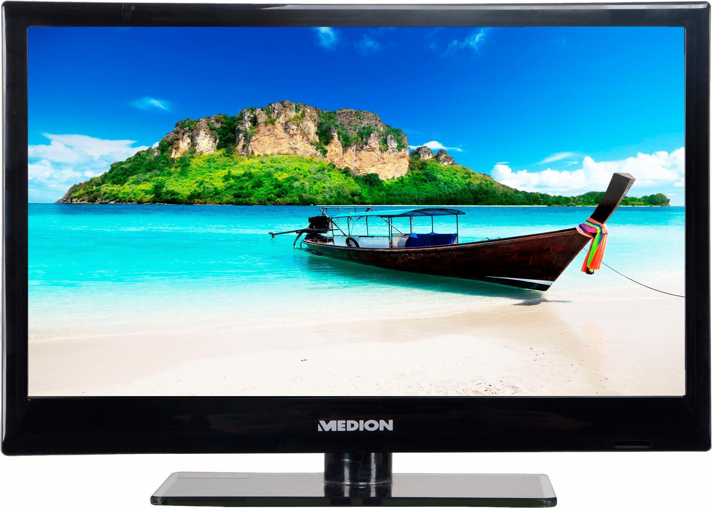Medion® P13166 MD 21418, LED Fernseher, 39,6 cm (15,6 Zoll), HD-ready 720p