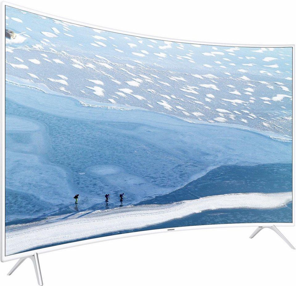 samsung ue55ku6519uxzg curved led fernseher 138 cm 55 zoll 2160p 4k ultra hd smart tv. Black Bedroom Furniture Sets. Home Design Ideas