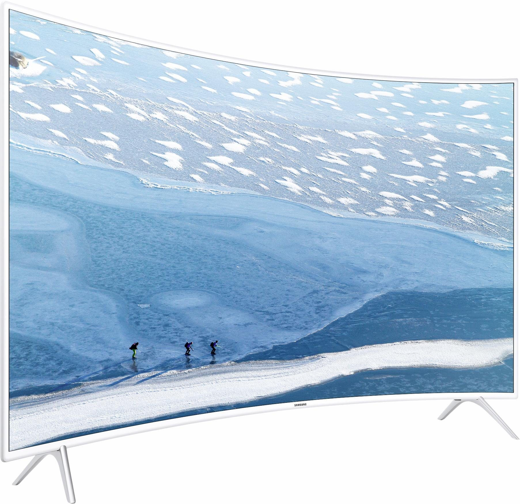 Samsung UE43KU6519UXZG, Curved-LED-Fernseher, 108 cm (43 Zoll), 2160p (4K Ultra HD), Smart-TV