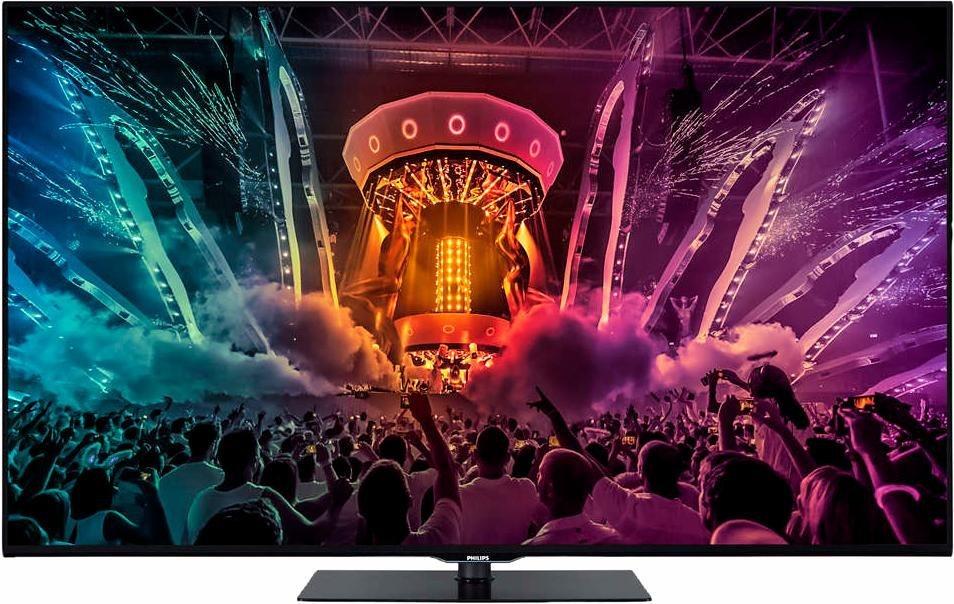 Philips 55PUS6031/12, LED Fernseher, 139 cm (55 Zoll), 2160p (4K Ultra HD), Smart-TV in schwarz