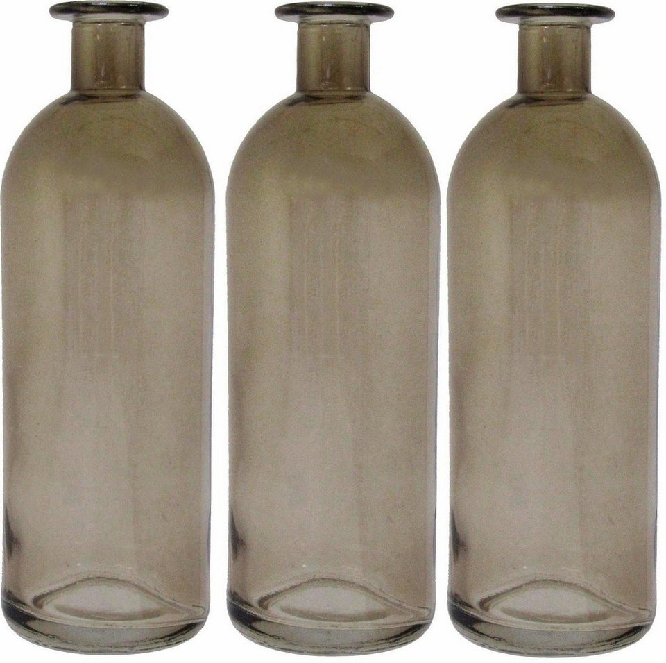 Home affaire Vase (3er Set) in natur