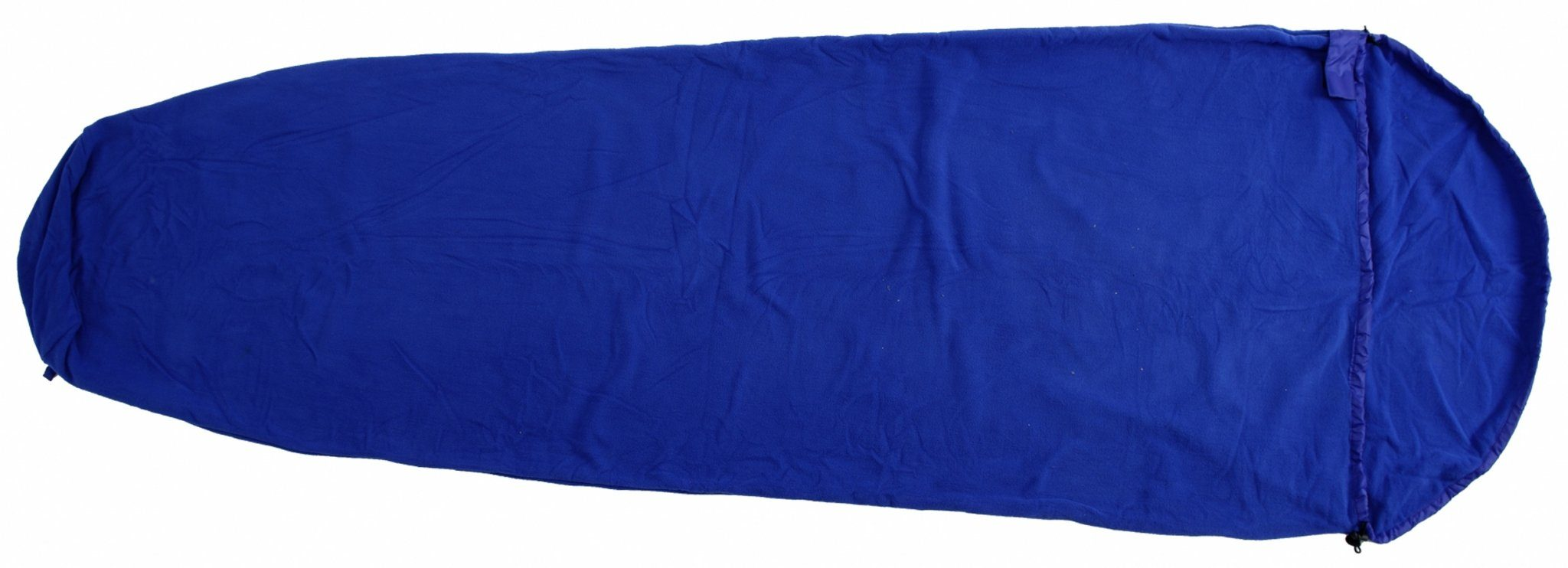 Basic Nature Schlafsack »Fleece Schlafsack royalblau«