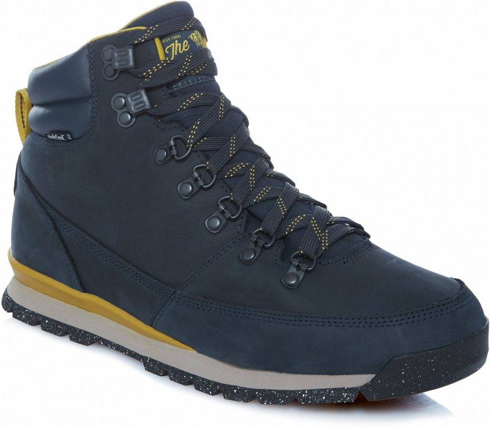 The North Face Kletterschuh »Back-to-Berkeley Redux Leather Shoes Men« in blau
