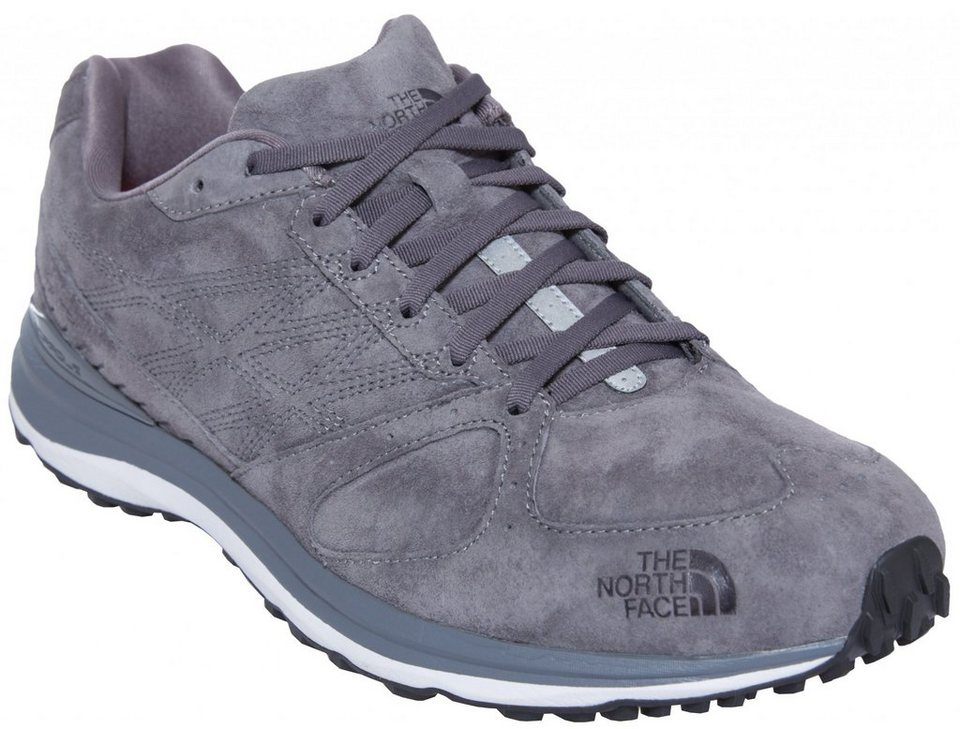 The North Face Kletterschuh »Traverse Tr. Leather Shoes Men« in grau