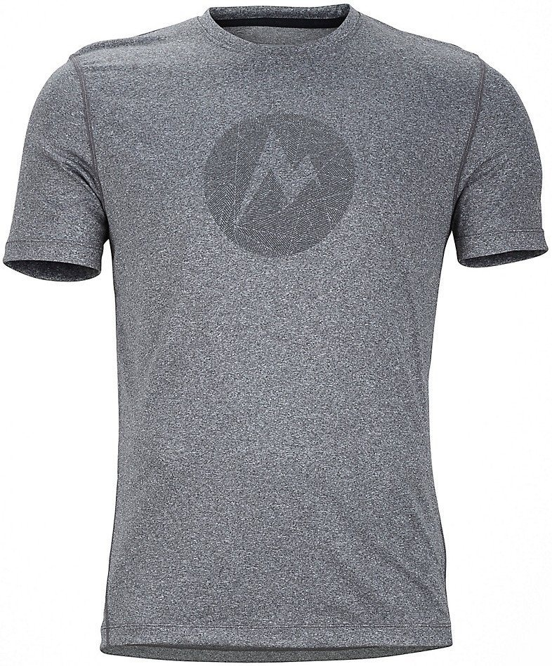 Marmot T-Shirt »Transporter Tee SS Men« in grau