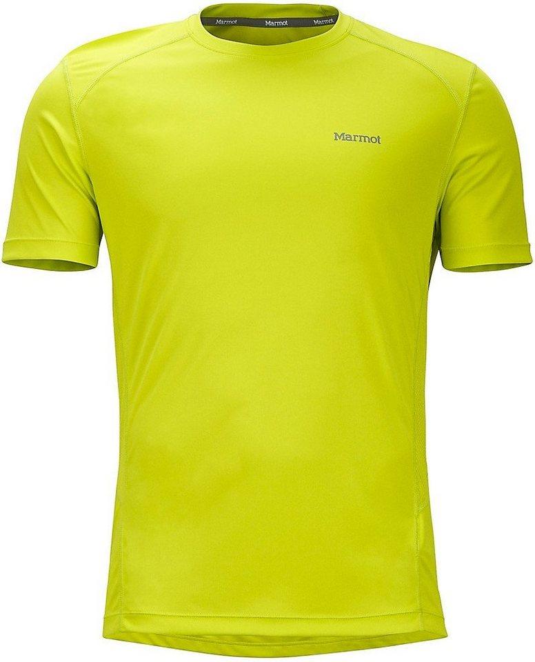 Marmot T-Shirt »Windridge SS Men« in gelb