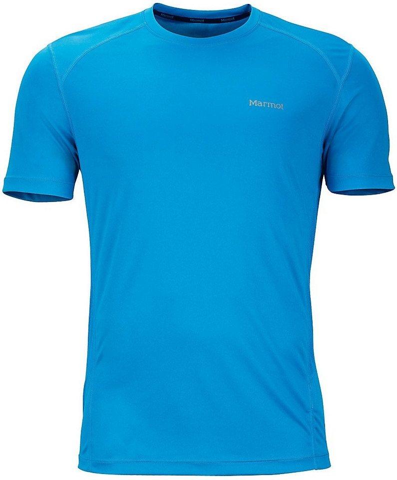 Marmot T-Shirt »Windridge SS Men« in blau