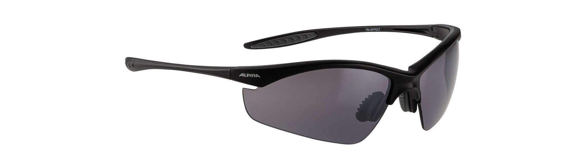 Alpina Radsportbrille »Tri-Effect«
