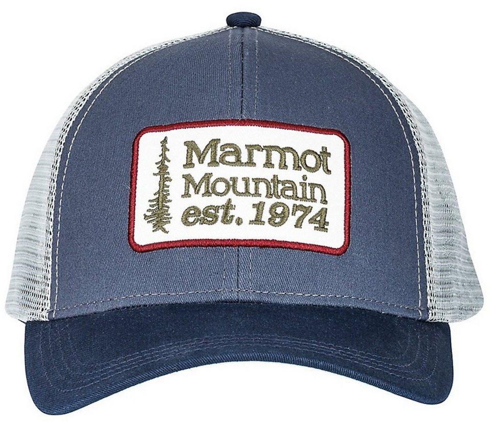 Marmot Hut »Retro Trucker Hat« in blau
