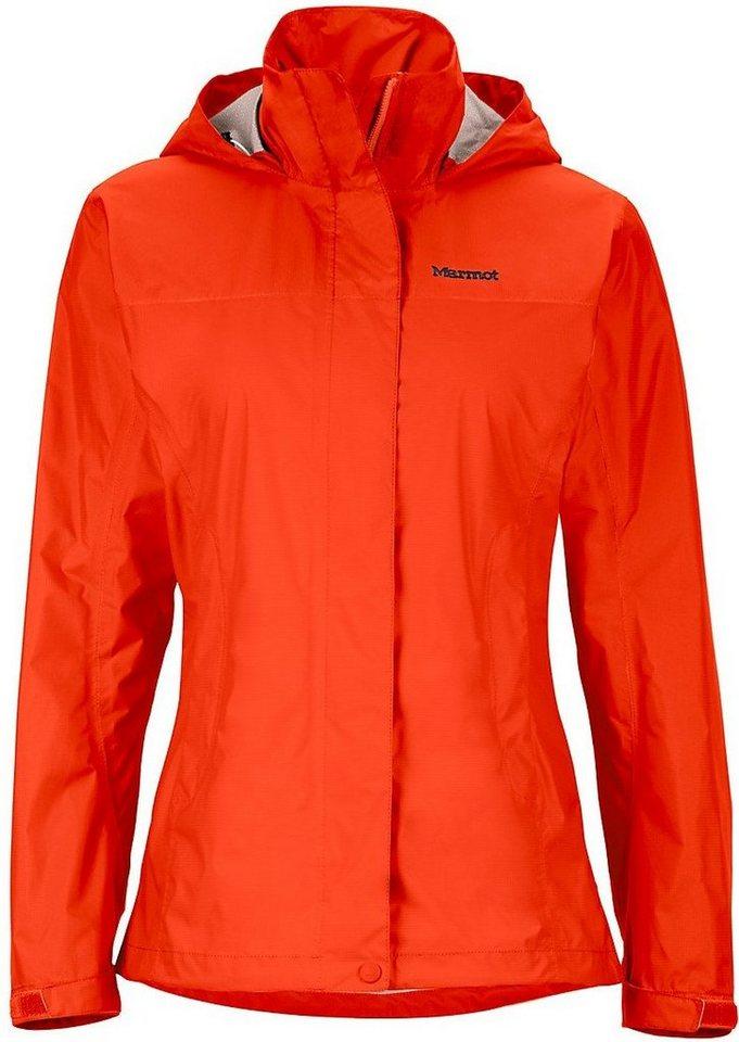 Marmot Regenjacke »PreCip Jacket Women« in orange