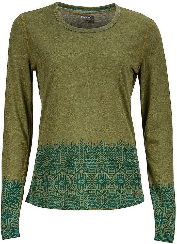 Marmot Shirt »Willow LS Women« in grün