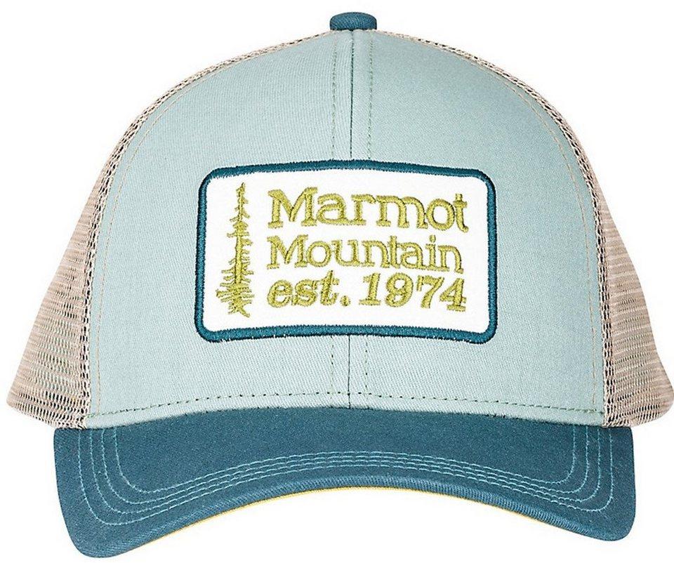 Marmot Hut »Retro Trucker Hat« in grün