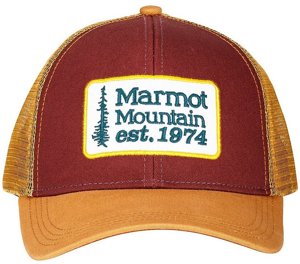 Marmot Hut »Retro Trucker Hat« in braun