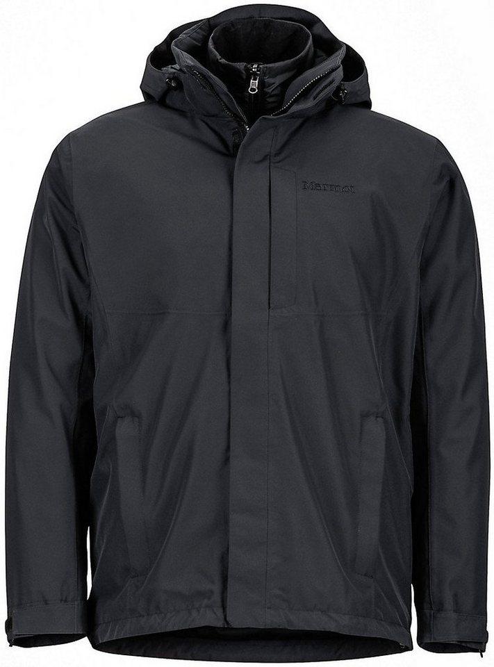 Marmot Outdoorjacke »Castleton Component Jacket Men« in schwarz