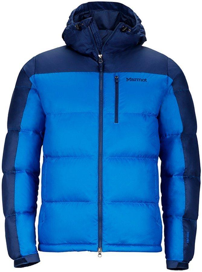 Marmot Outdoorjacke »Guides Down Hoody Men« in blau