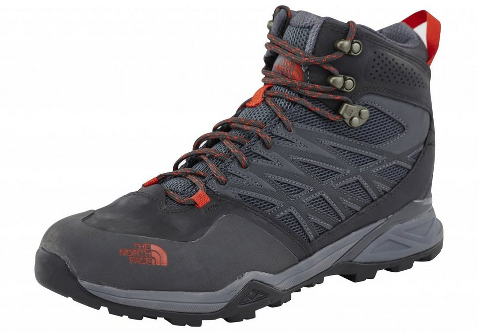 The North Face Kletterschuh »Hedgehog Hike Mid GTX Shoes Men« in grau