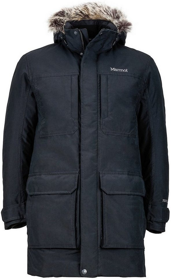 Marmot Outdoorjacke »Longwood Jacket Men« in schwarz