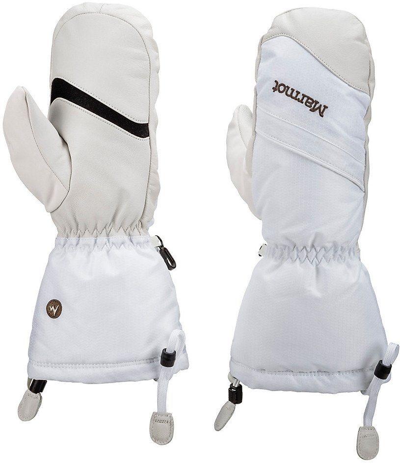 Marmot Handschuhe »Warmest Mittens Women« in weiß