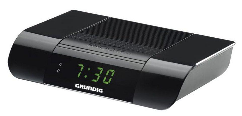 Grundig Uhrenradio mit UKW-Tuner und Wecker »KSC 35« in schwarz