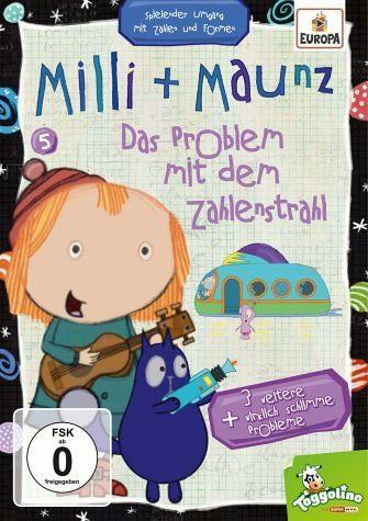 DVD »Milli + Maunz - Das Problem mit dem Zahlenstrahl«
