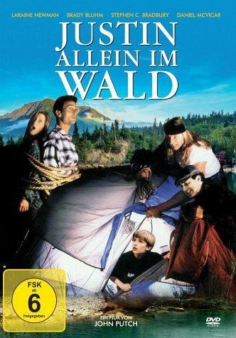 DVD »Justin allein im Wald«