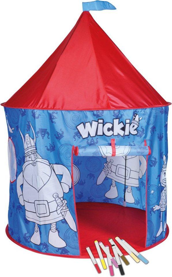 knorr toys Anmalzelt mit 10 bunten Stiften, »Wickie«