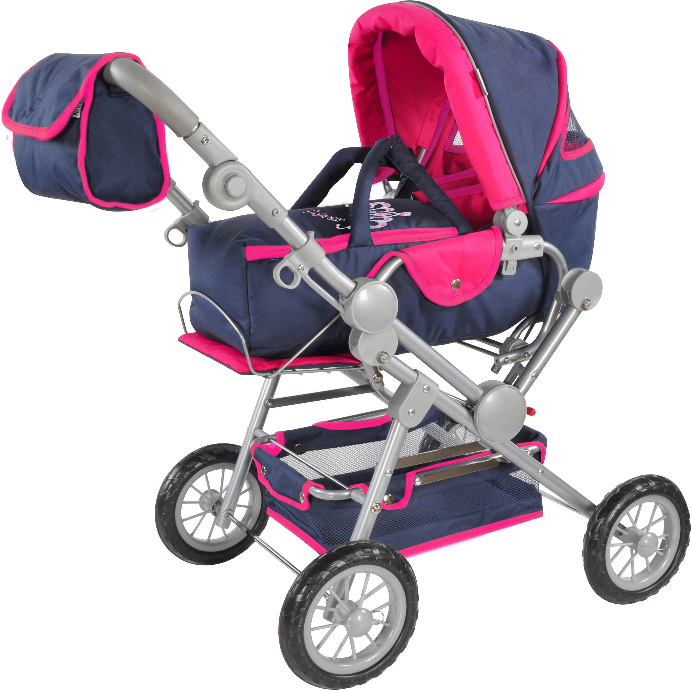 knorr toys Puppenkombiwagen, »Twingo S Diadem«