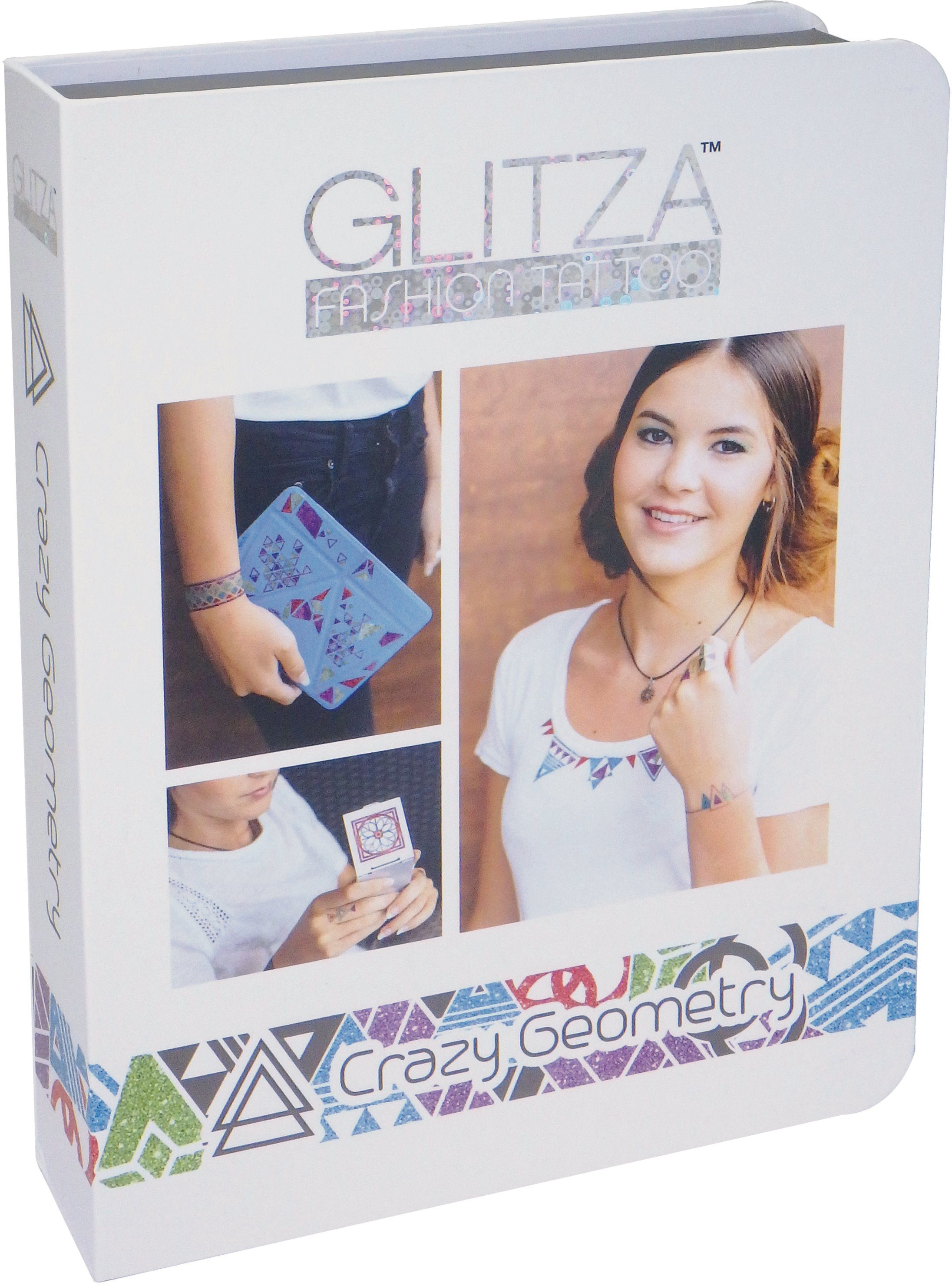 knorr toys Kreativset, »GLITZA FASHION Deluxe Set Crazy Geometry«