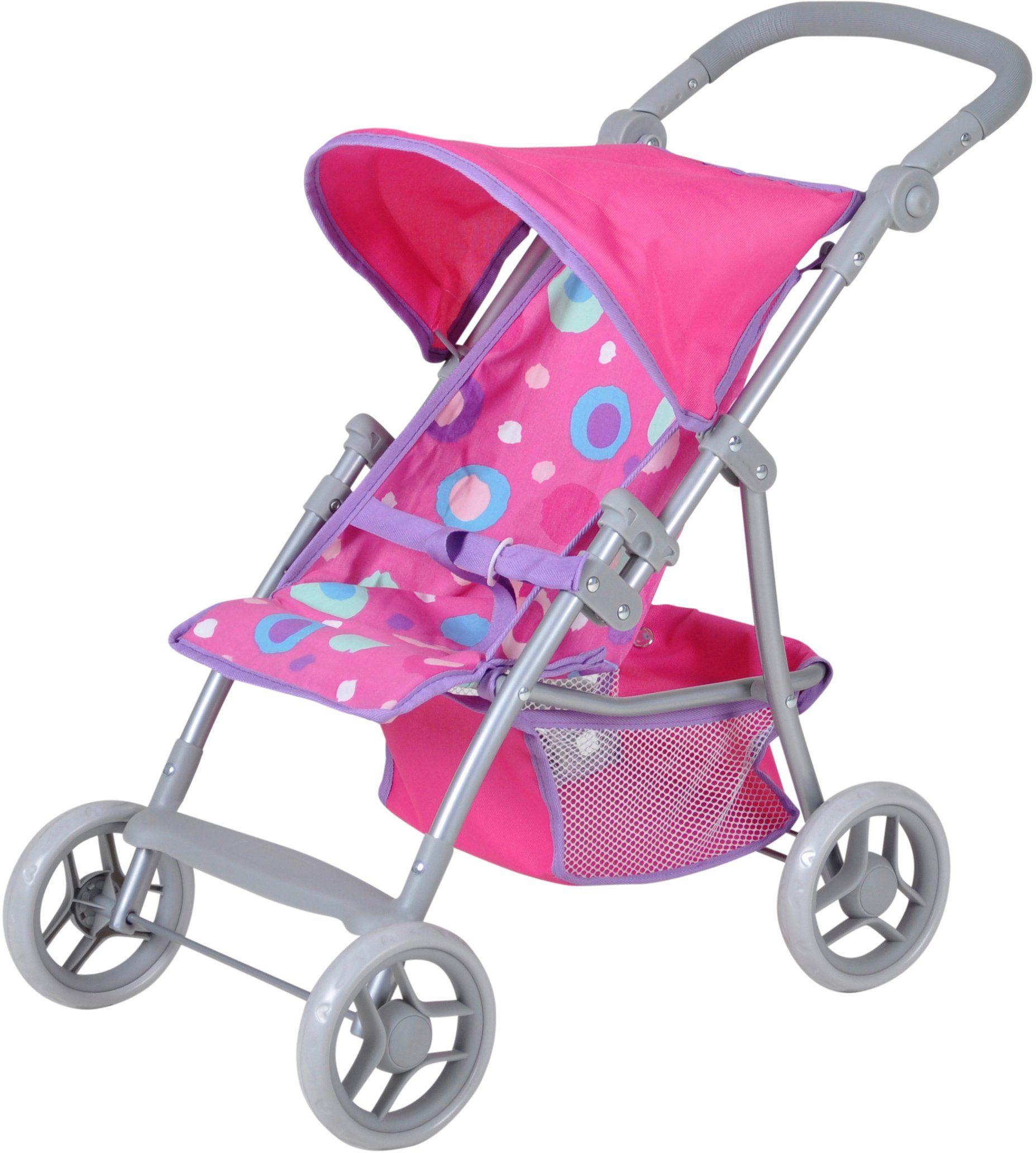 knorr toys Puppenbuggy, »Liba Pink Splash«