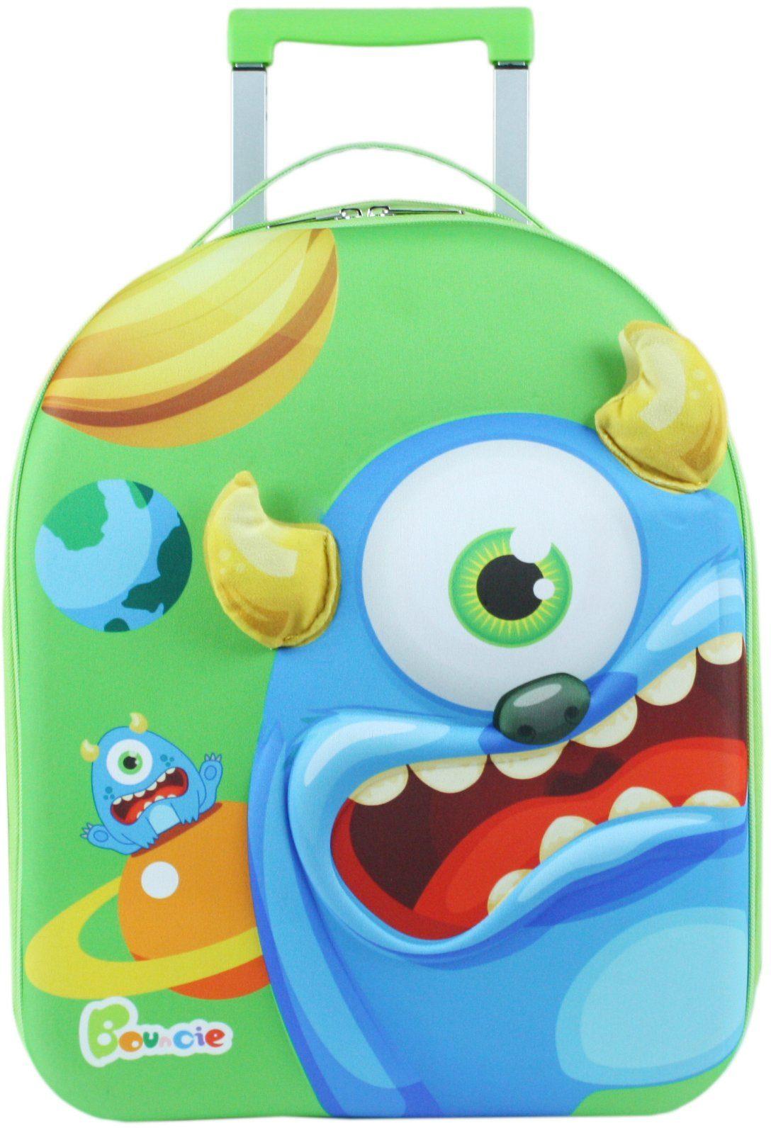 knorr toys Kinder Trolley, »Bouncie 3D Monster Blaubeere«