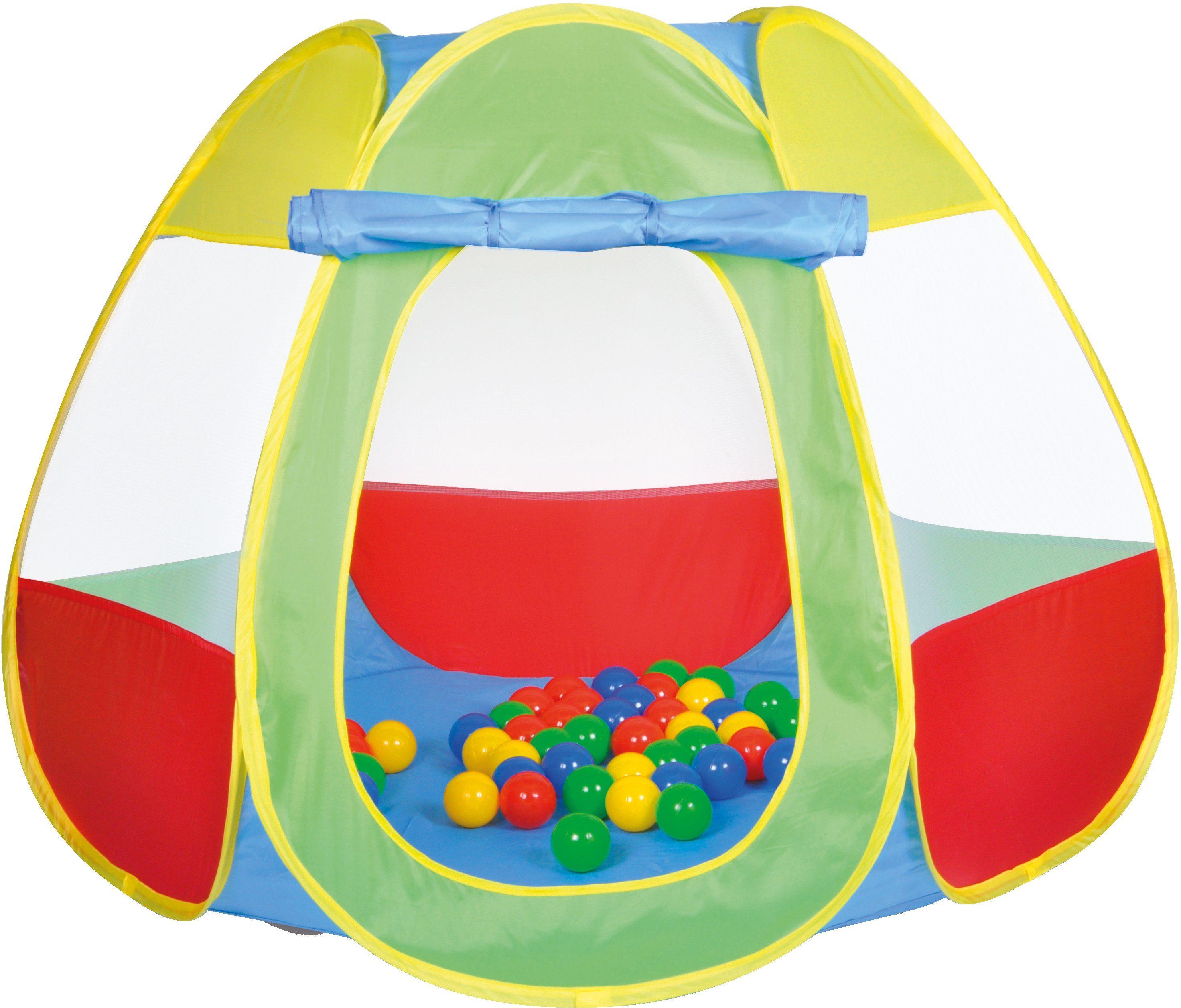 knorr toys Spielzelt inkl. 50 Spielbälle ca. Ø6 cm, »Bellox«