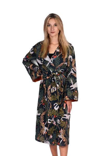 "EMPIRE-THIRTEEN Kimono »KIMONO ""KALEA""« mit Gürtel"