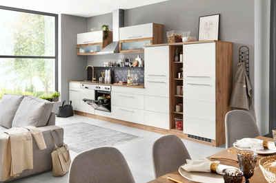 HELD MÖBEL Küchenzeile »Wien«, mit E-Geräten, Breite 420 cm
