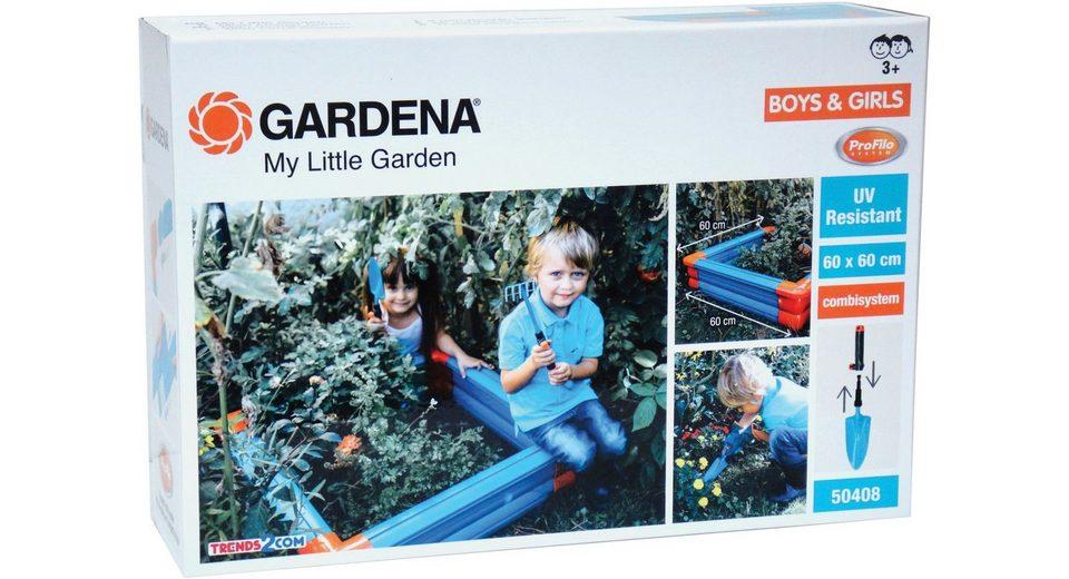 knorr toys Gartenspielset, »GARDENA Sandkasten Set klein« (4tlg.)