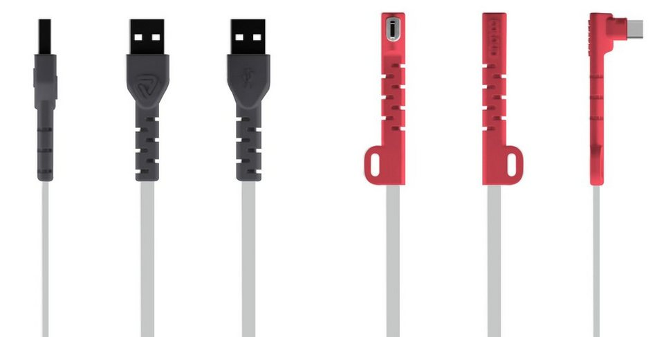 Coloud Micro USB Lade-/Synchronisierungskabel »The Super Charger« in coloured