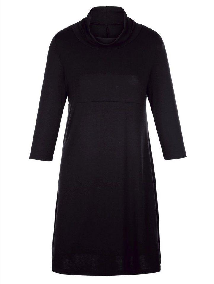 MIAMODA Kleid in schwarz