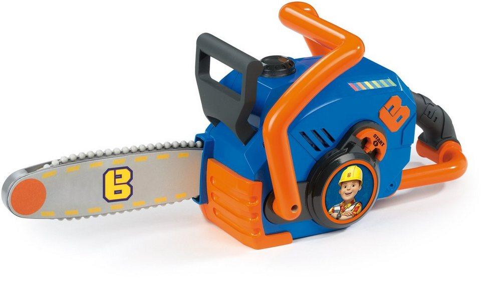 Smoby Kinderkettensäge, »Bob der Baumeister Kettensäge« in blau/orange